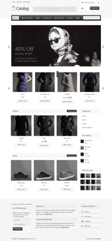 Catelog WordPress Theme